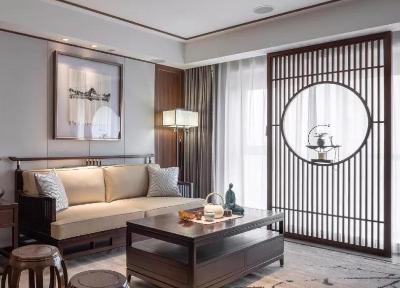 中建悦海120㎡中式风格