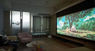 大宅装修分享客厅安装投影仪的相关事项
