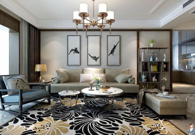 新中式风格三居室 118㎡