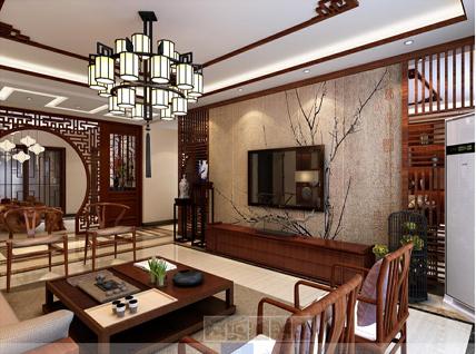龙湖香醍国际     155平     中式