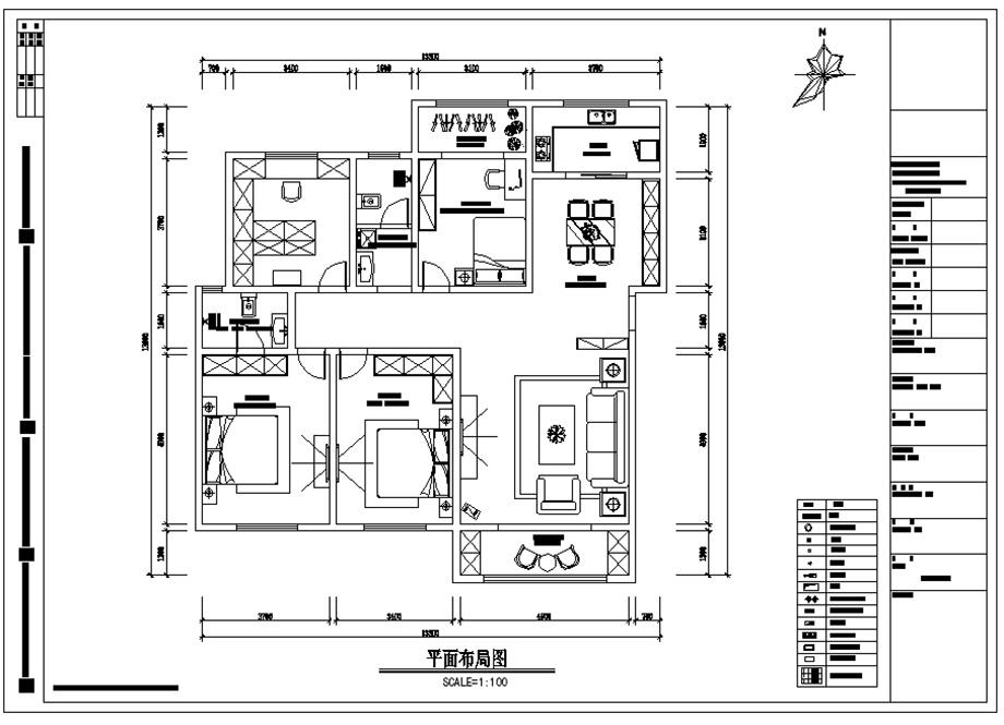 航天轩逸城178㎡设计主题《逅屋一舍》