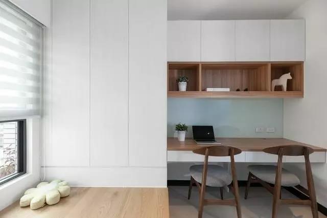 榻榻米柜子+书桌,小户型的新宠!