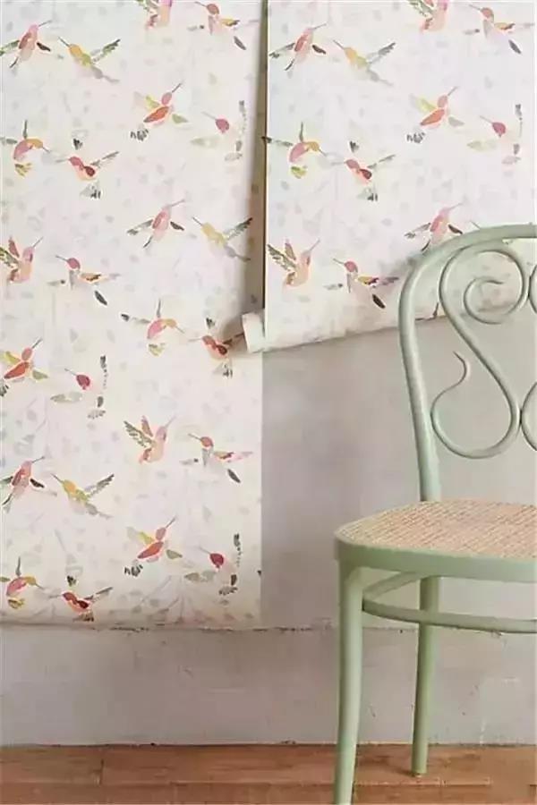 学会墙纸搭配技巧,点缀舒适空间