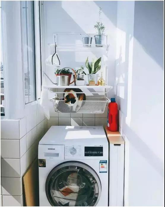 厨房外的小阳台千万别浪费!这样设计好看又实用!
