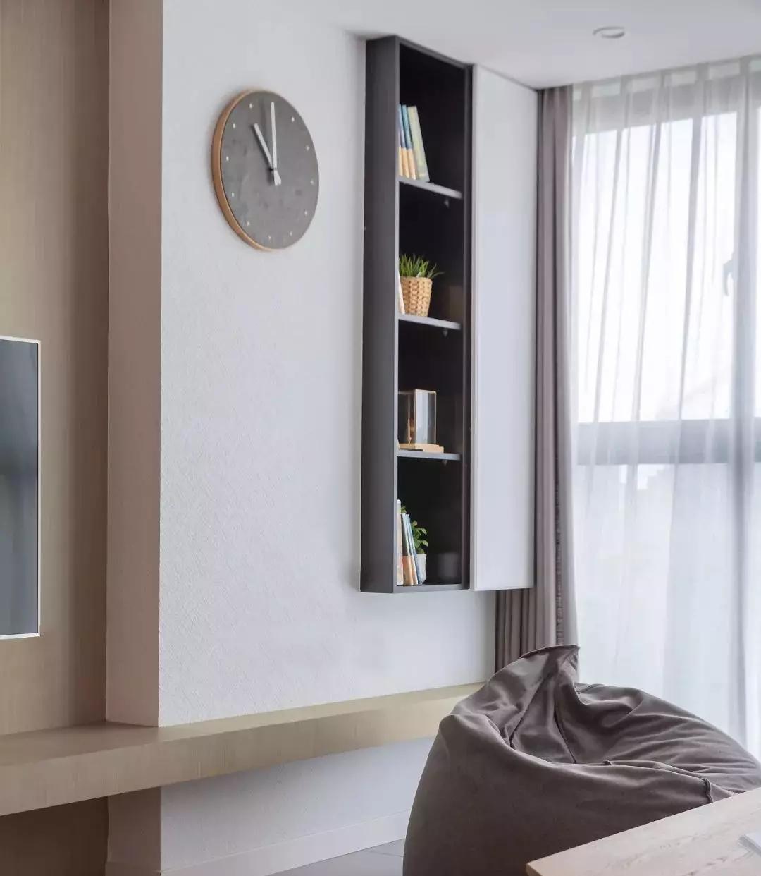 120㎡日式+北欧3室2厅,温暖而治愈的气质美居