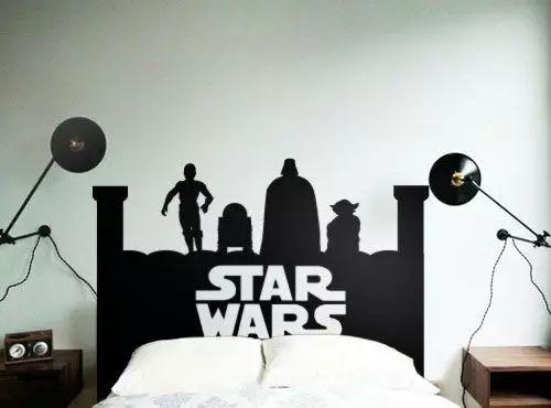 想把家布置的更有味道?怎么能少得了墙贴?