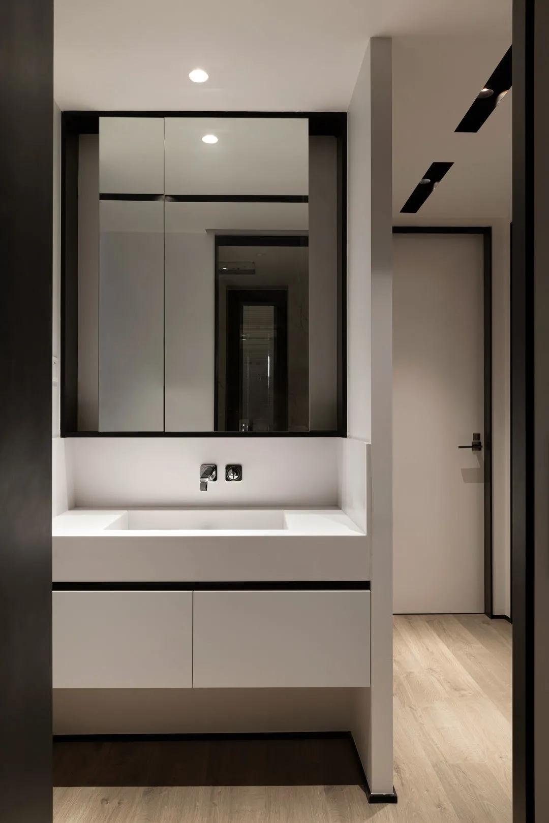 75㎡小两室,全屋极简的硬装风格,竟没有丝毫的俗气