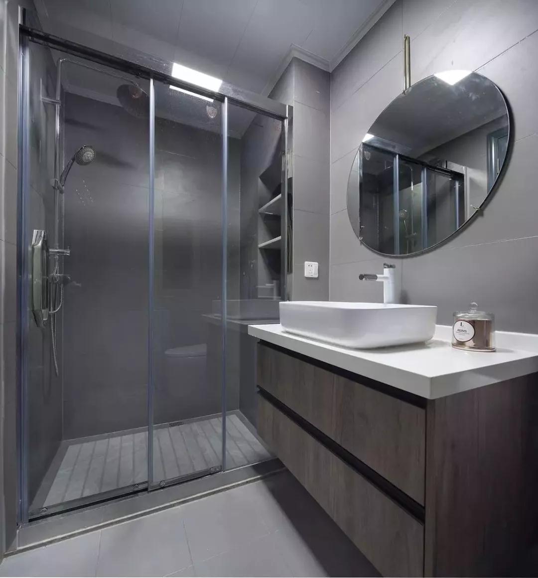 125平现代三居室,蓝色系软装真是太好看了~