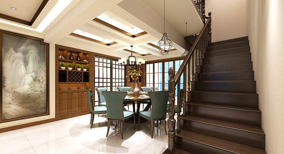 滁州玖艺装饰介绍如何设计家装室内楼梯!