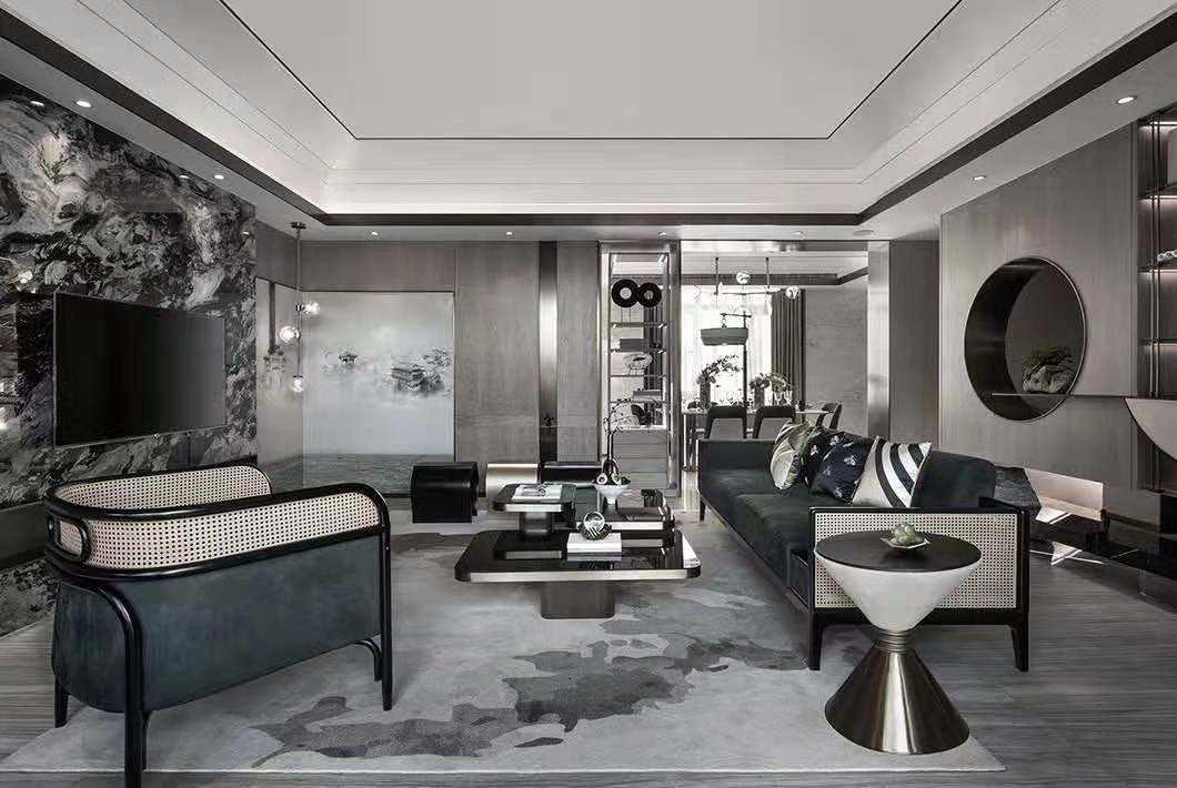 现代轻奢风格是高品质生活方式的体现
