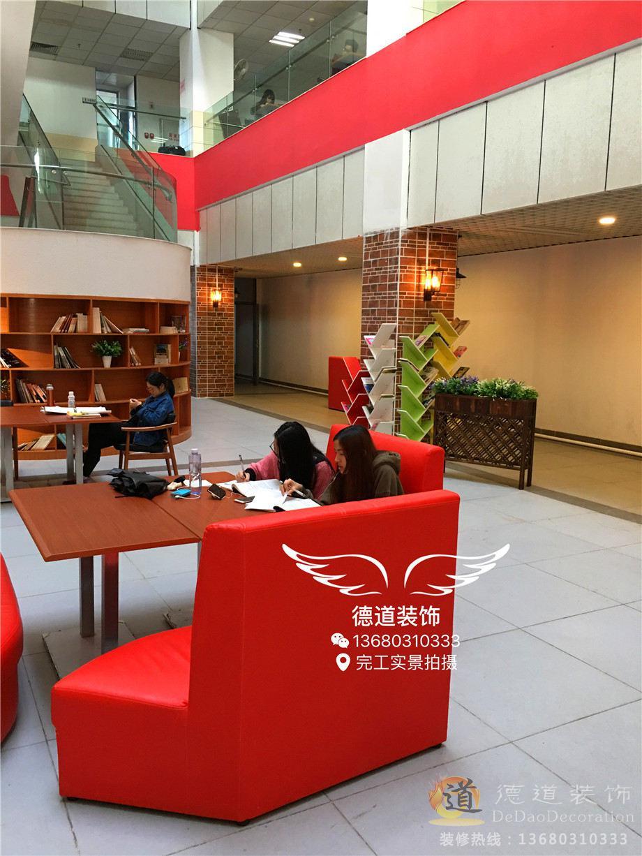 珠海装修案例广东省科技干部大学咖啡厅