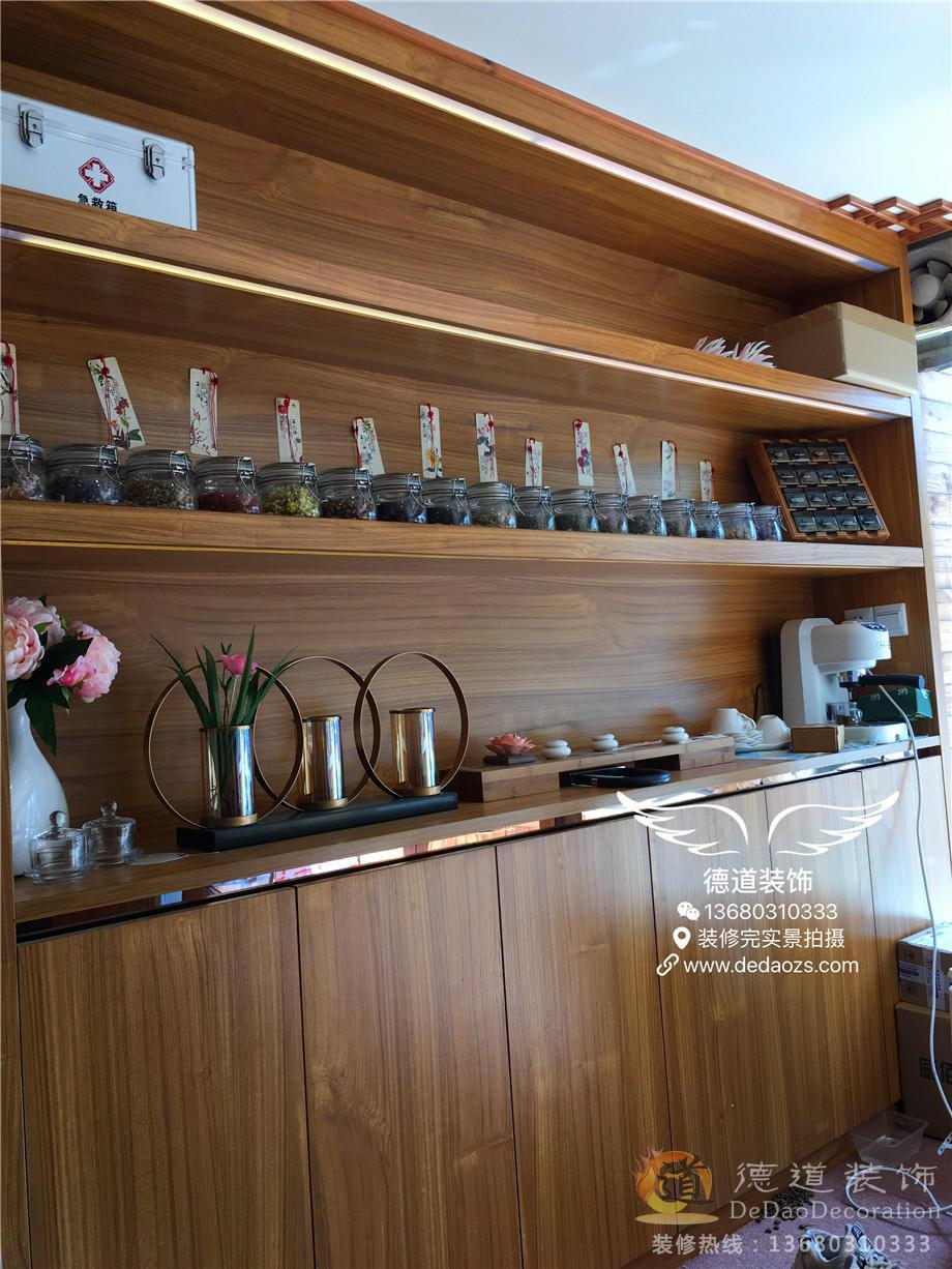 珠海装修案例荷塘物语香水会所店
