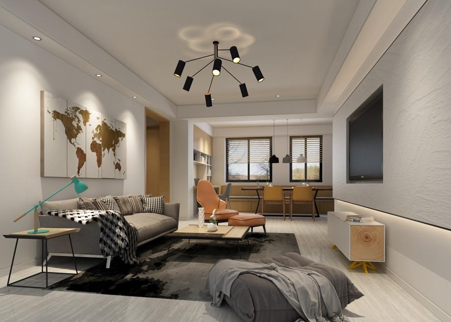 两居室装修设计技巧 两居室装修注意事项