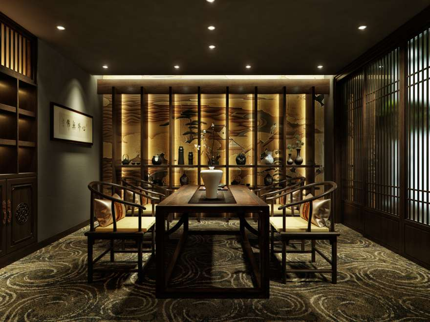 新中式风格-办公室