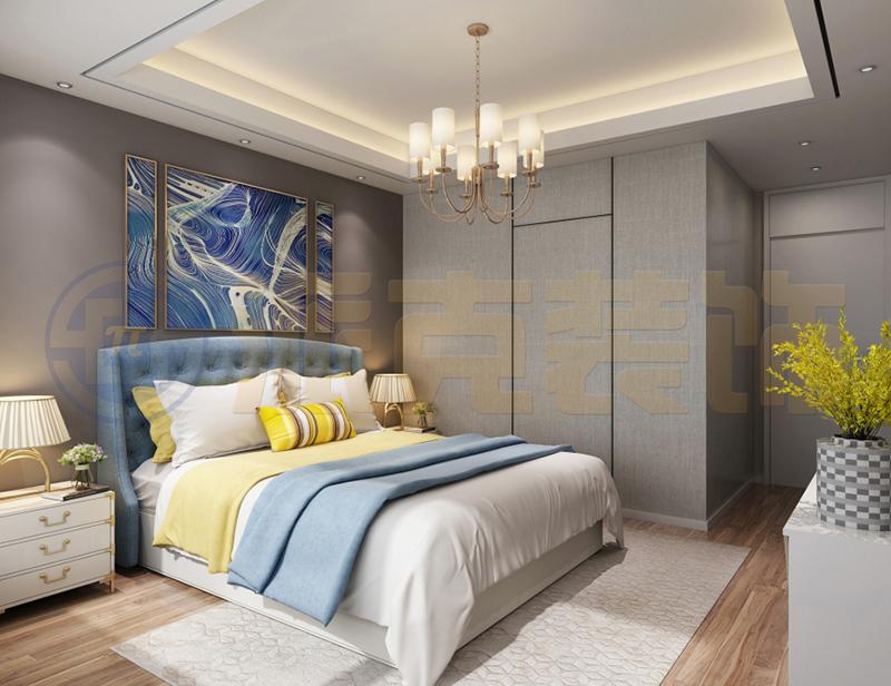 大连派克装饰-龙湖海岸210平米现代简约家装