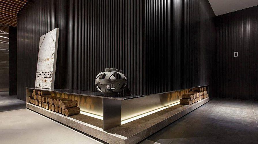 西安装修案例现代简约风格装修案例_西安灞业·大境四居室150平装修效果图