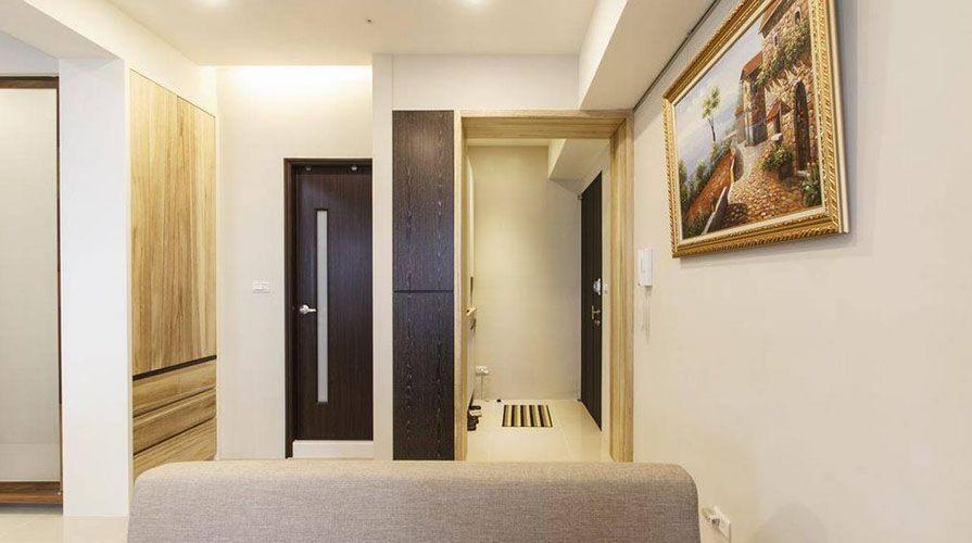 西安装修案例日式风格装修案例_西安华远海蓝城三居室100平装修效果图