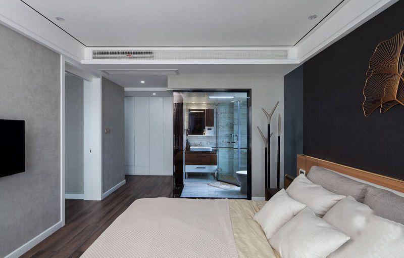 混搭風格裝修案例_西安天朗大興郡兩居室60平裝修效果圖