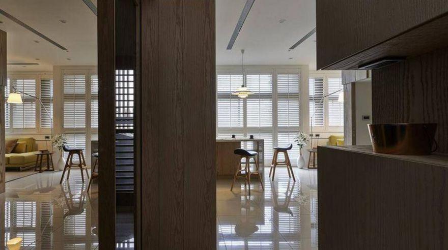 西安装修案例混搭风格装修案例_西安永泽五里州两居室70平装修效果图