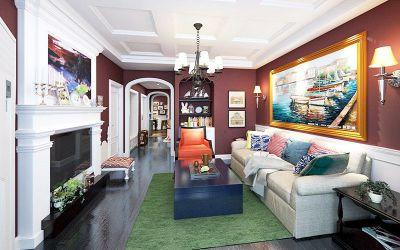 西安装修方案户型:三居两厅