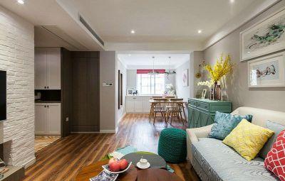 西安装修方案户型:两居一厅