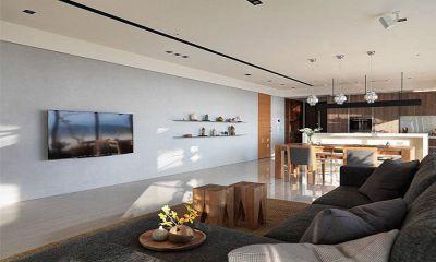 西安装修方案户型:两居两厅