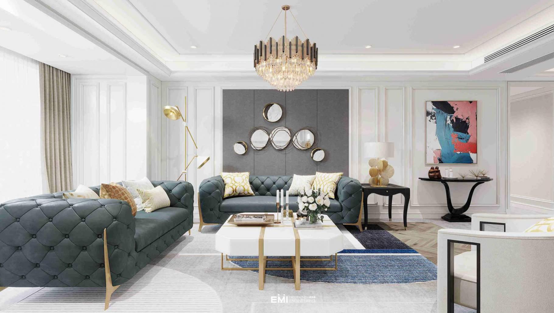 碧桂園·瓏悅200平美式風格