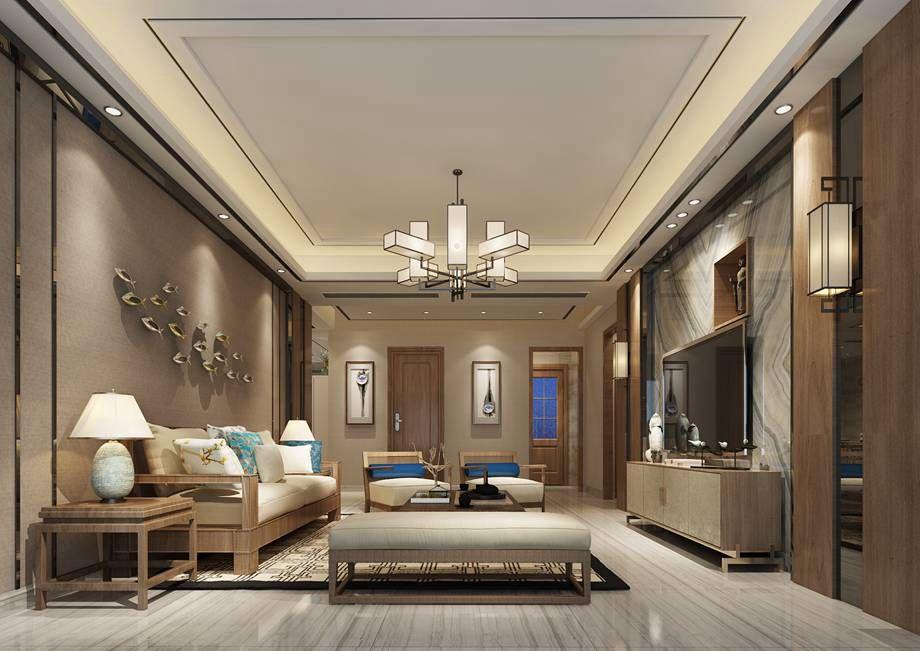 新中式风格150平米