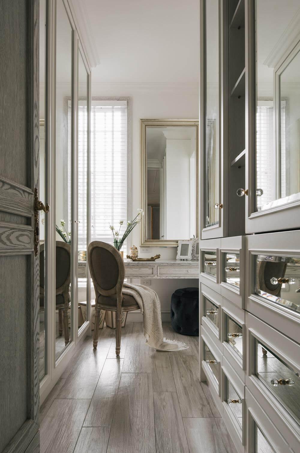660㎡法式庄园风装修,打造精致不杂乱的空间
