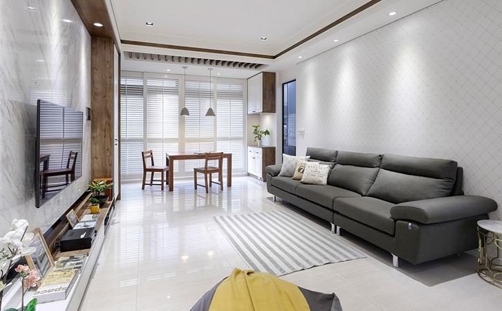 客厅装修材料选用地面材料选用的图片