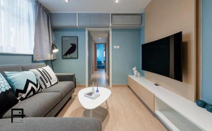 客厅装修设计重要性巧用家具填补空间L型沙发的图片