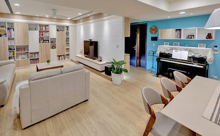 客厅装修设计重要性灯具装饰的图片