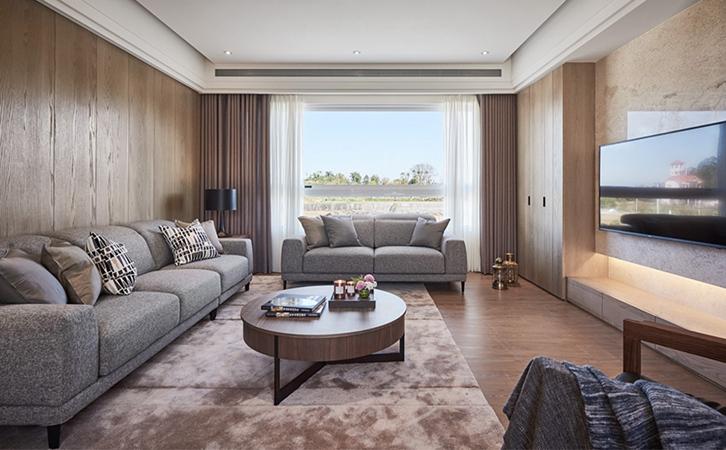 小户型房子装修案例客厅设计的效果图