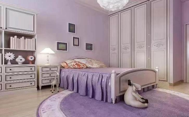 小户型房子装修案例卧室设计的效果图