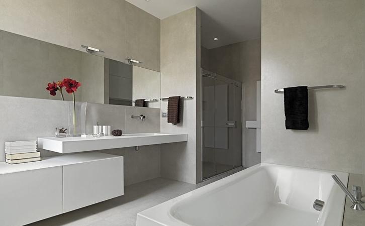 小户型房子装修案例卫浴设计的效果图