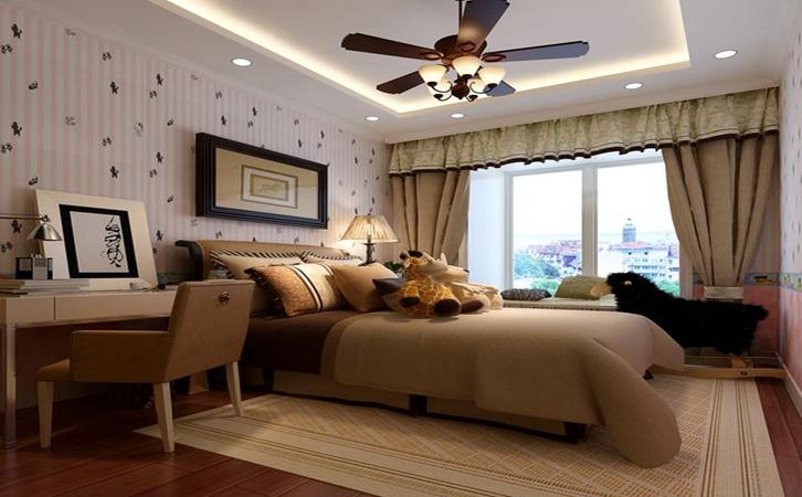 家里装修壁纸选择案例的效果图