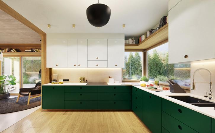 化解压迫感的厨房装修,让每个人都想成为厨师