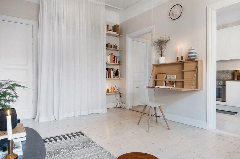 入型入格,北欧风格室内设计