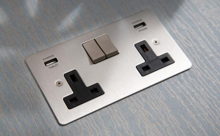 非凡国际装饰有话说:插座安装位置须知