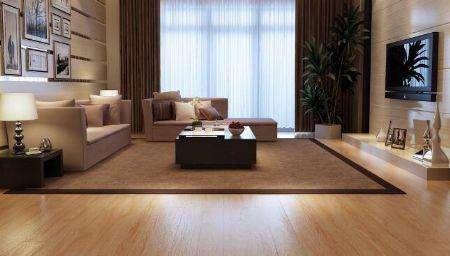 无缝地板的分类和款式