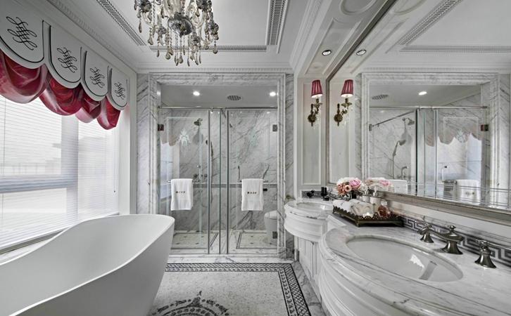 浴室应该怎么装修?法式浴室装修效果图