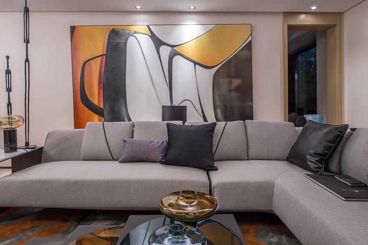 客厅风水宜忌: 沙发要有「靠山」和「明堂」