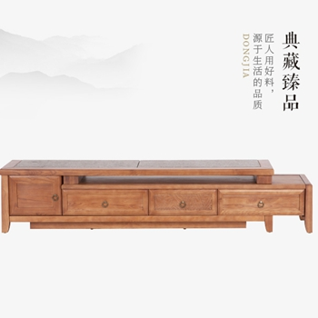 太原东家阿禧新中式家具石面视听柜