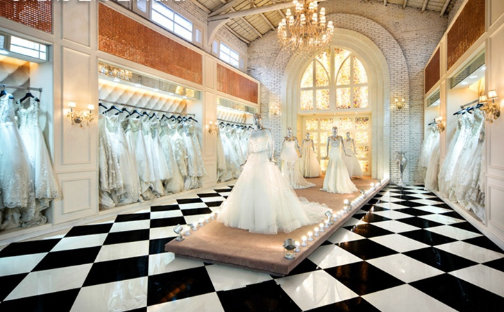 太原婚纱店装修,女孩看完都说想结婚了!