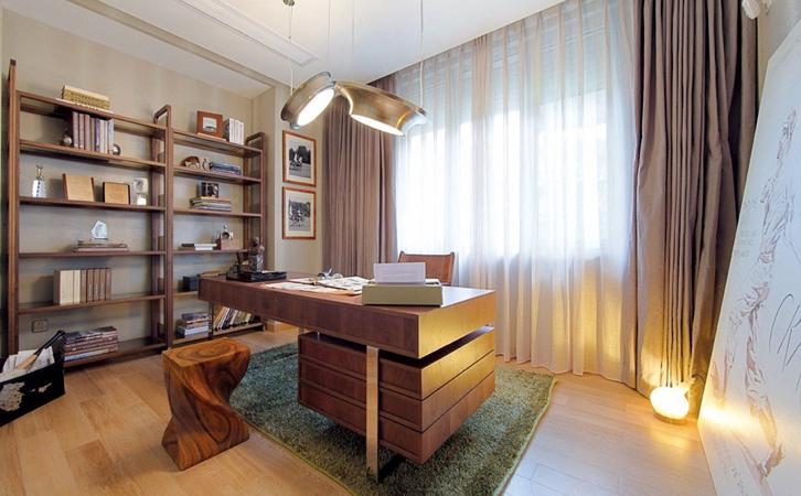 家里没有书房怎么办?这做给你一个安静的读书空间!