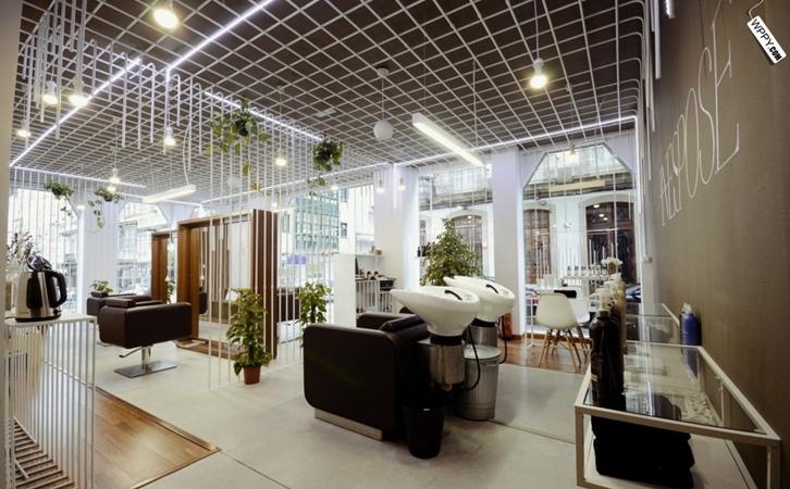 太原理发店设计,这样设计生意好到忙不过来!