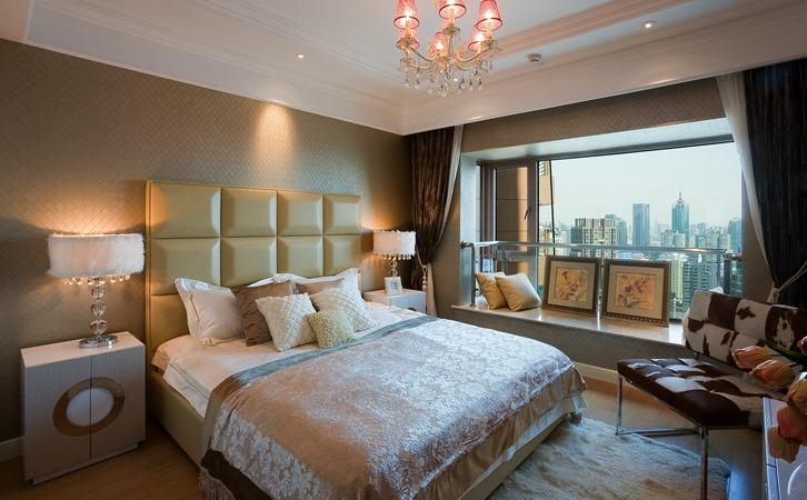 田园风格卧室,精致的设计让你回归大自然!