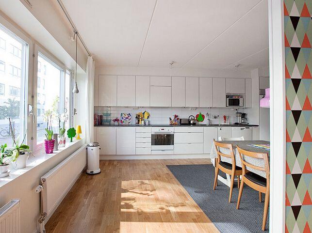 开放式厨房风水禁忌,开放式厨房隔断设计原则
