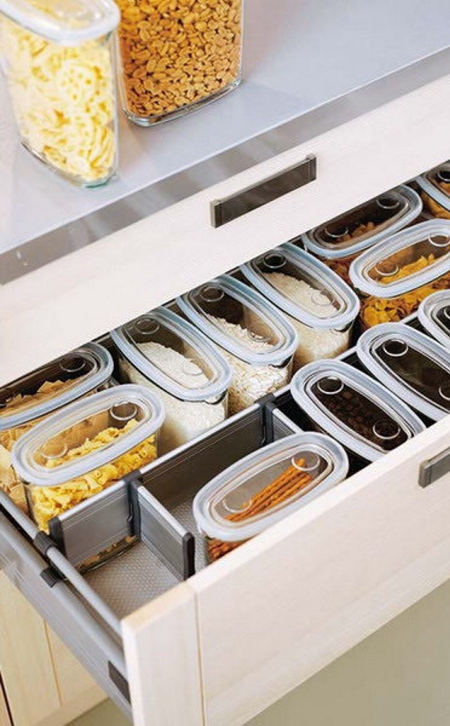 厨房收纳设计,五个技巧让厨房易于使用!