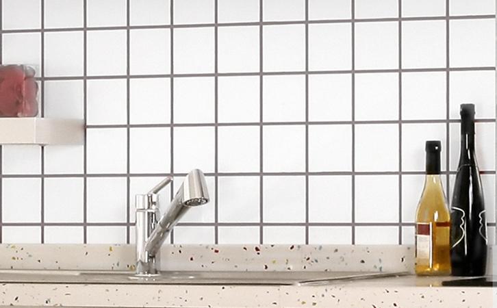 厨房瓷砖搭配,今年最流行的铺法!